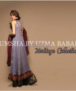 Umsha by Uzma Babar Heritage Collection 2013 For Women6