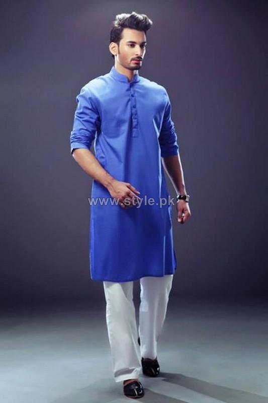 Yellow Menswear Collection 2013 For Eid-Ul-Azha1