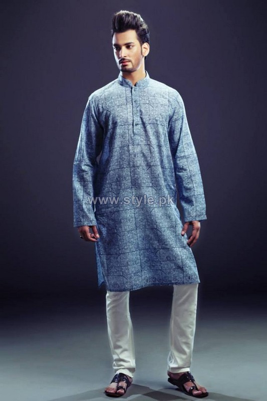 Yellow Menwear Collection 2013 For Eid6