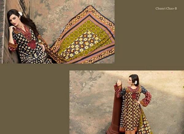 Zubaida Textile Mills Fall Dresses 2013 For Women 001