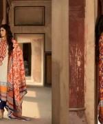 Zubaida Textile Mills Fall Dresses 2013 For Women 0010