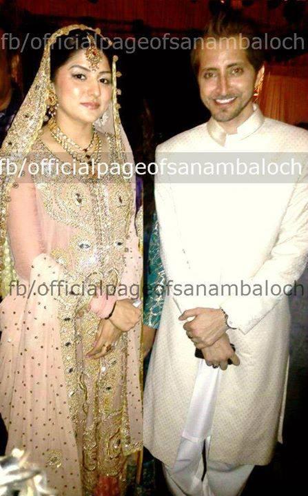 sanam Baloch Walima Pics 4 celebrity gossips