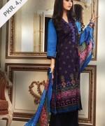 Alkaram Winter Dresses 2013-2014 Volume 2 for Women 014