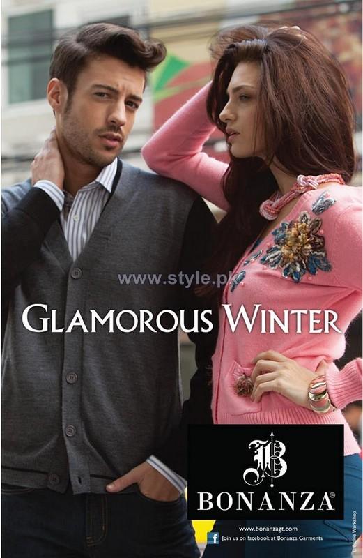 Bonanza Winter Dresses 2013-2014 For Men and Women 7