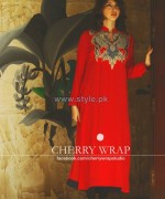 Cherry Wrap Winter Clothes 2013-2014 For Girls 2
