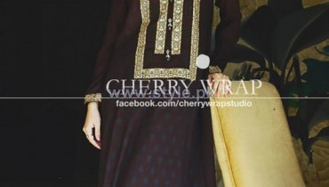 Cherry Wrap Winter Clothes 2013-2014 For Women 12