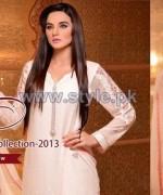 Elegance Winter Long Dresses 2013 For Girls1