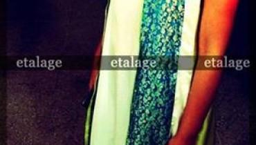 Etalage Winter Dresses 2013 For Women