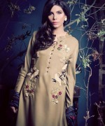 Ethnic By Outfitters Winter Dresses 2013-2014 For Women 004