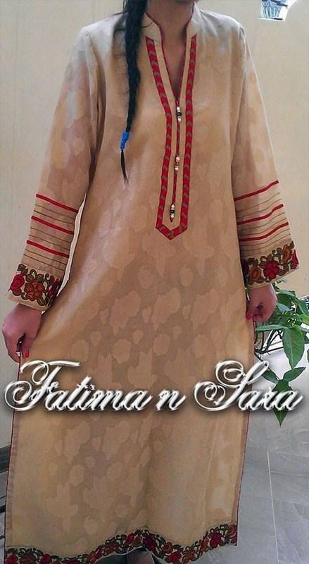 Fatima N Sara Winter Dresses 2013-2014 For Women 003