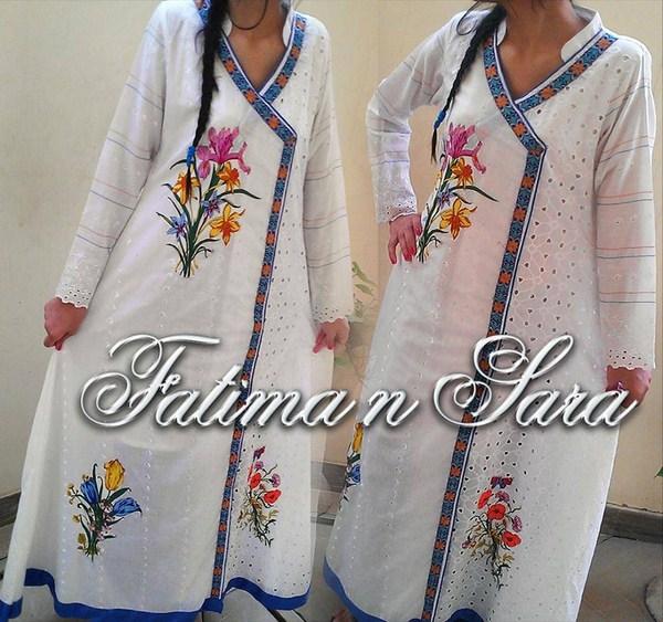 Fatima N Sara Winter Dresses 2013-2014 For Women 004