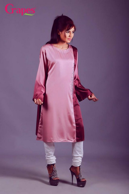 Grapes The Brand Winter Dresses 2013-2014 For Women 005