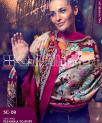 Gul Ahmed Latest Pashmina Scarves Collection 2013 For Winter3