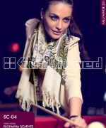 Gul Ahmed Latest Pashmina Scarves Collection 2013 For Women7