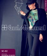 Gul Ahmed Latest Pashmina Scarves Collection 2013 For Women8