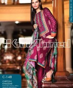 Gul Ahmed Winter Dresses 2013-2014 Volume 2 for Women 004