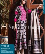 Gul Ahmed Winter Dresses 2013-2014 Volume 2 for Women 005