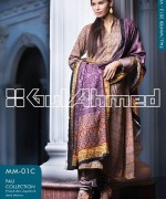 Gul Ahmed Winter Dresses 2013-2014 Volume 2 for Women 006