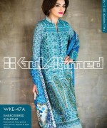 Gul Ahmed Winter Dresses 2013-2014 Volume 2 for Women 011