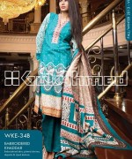 Gul Ahmed Winter Dresses 2013-2014 Volume 2 for Women 012