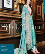 Gul Ahmed Winter Dresses 2013-2014 Volume 2 for Women 014