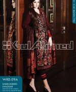 Gul Ahmed Winter Dresses 2013-2014 Volume 2 for Women 015
