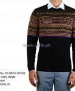 Gul Ahmed Winter Sweater Designs 2013 For Boys 2