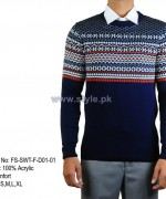 Gul Ahmed Winter Sweater Designs 2013 For Men 6