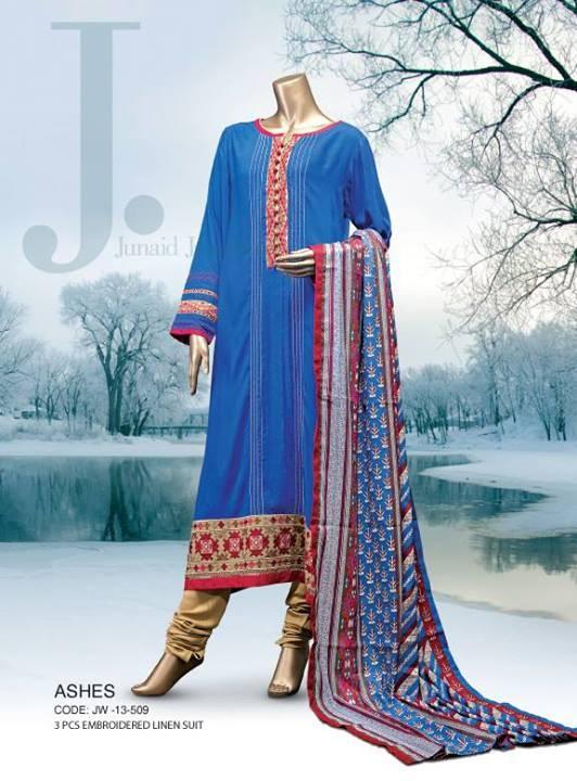 Junaid Jamshed Winter Dresses 2013-2014 - 93.2KB