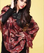 Kayseria Shawl Suits for Winter 2013 for Women 003