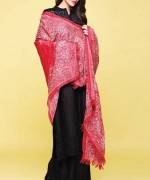 Kayseria Shawl Suits for Winter 2013 for Women 004