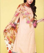 Kayseria Shawl Suits for Winter 2013 for Women 006