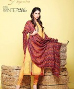 Kayseria Shawl Suits for Winter 2013 for Women 015