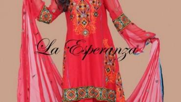 La Esperanza Winter Dresses 2013-2014 For Women 0013