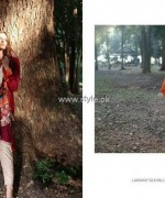 Lakhany Silk Mills Shawl Collection 2013-2014 for Women 001