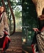 Lakhany Silk Mills Shawl Collection 2013-2014 for Women 002