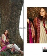Lakhany Silk Mills Shawl Collection 2013-2014 for Women 006