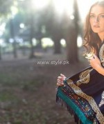 Lakhany Silk Mills Shawl Collection 2013-2014 for Women 012
