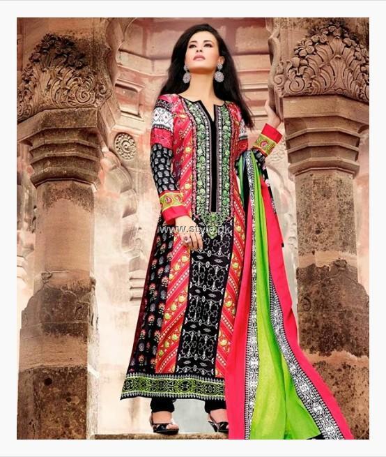 Maria B Pashmina Indian Dresses 2013-2014 for Women