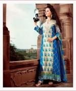 Maria B Pashmina Indian Dresses 2013-2014 for Women 004