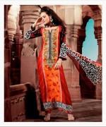 Maria B Pashmina Indian Dresses 2013-2014 for Women 006