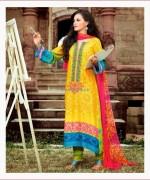 Maria B Pashmina Indian Dresses 2013-2014 for Women 007