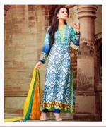 Maria B Pashmina Indian Dresses 2013-2014 for Women 008