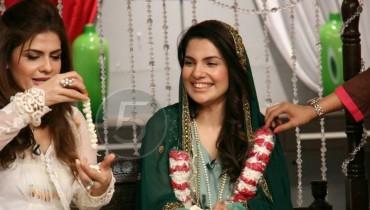 Masala Tv Host Kiran Khan Wedding Pics