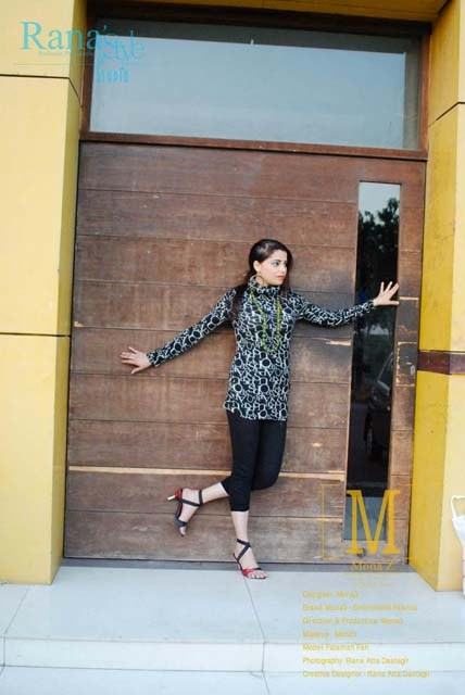 Mona'z Winter Dresses 2013-2014 For Women 005