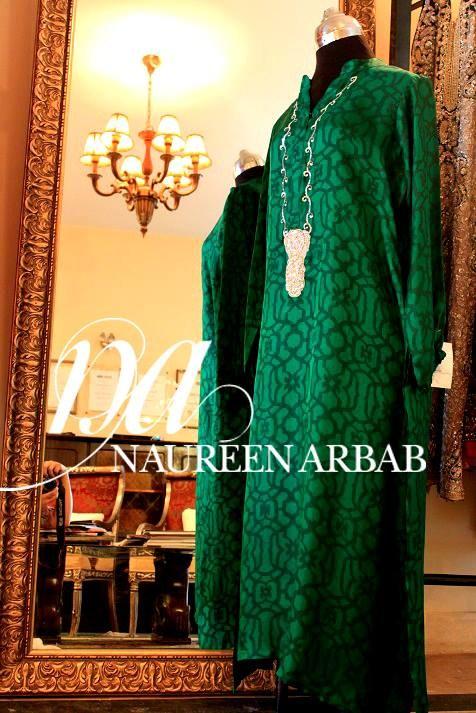 Naureen Arbab Formal Dresses 2013-2014 For Women 003