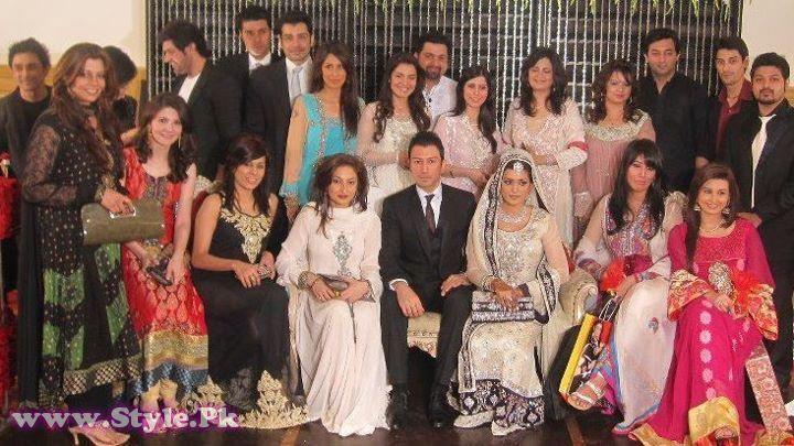 Pakistani TV Host Nazia Malik Wedding Picture