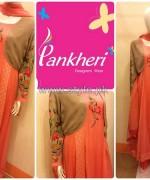 Pankheri Party Wear Dresses 2013-2014 For Winter 4