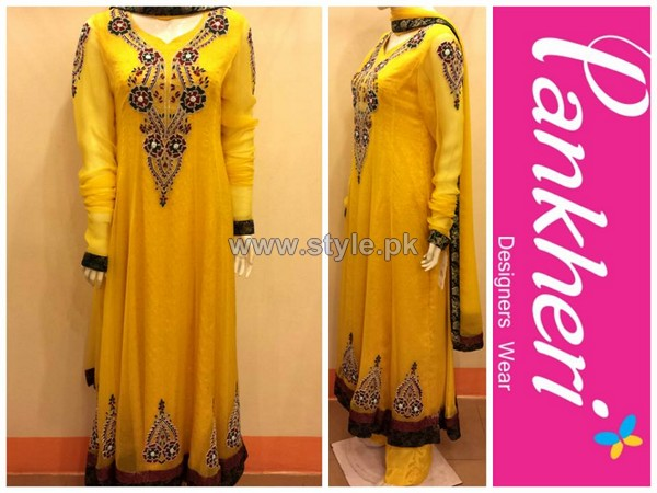 Pankheri Party Wear Dresses 2013-2014 For Women 8