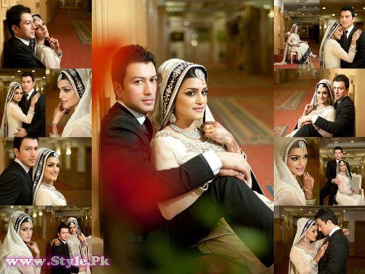 Pics of Nazia Malik Wedding